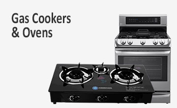 Gas Cookers Ovens